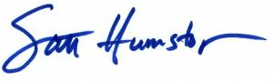 Scott Signature In Blue