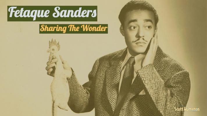Fetaque Sanders-Sharing The Wonder